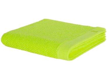 Handtücher »New Essential«, Möve, mit Perlstruktur, grün, Walkfrottee, 1x 50x100 cm
