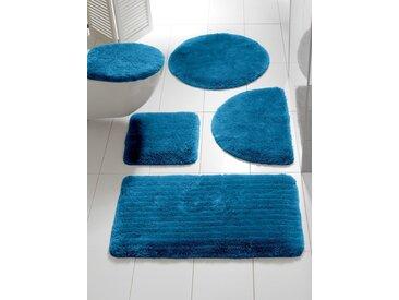 heine home Badgarnitur einfarbig, blau, Set: Deckelbezug ca.47/50cm+ca.45/50cm, o. Ausschnitt