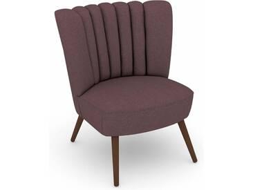 Max Winzer® build-a-chair Stuhlsessel »Aspen« im Retrolook, zum Selbstgestalten, lila