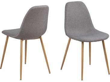 my home Esszimmerstuhl »Willy« (4er-Set) in elegantem Design, braun