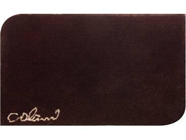 Badematte »Colani 40« Colani, Höhe 24 mm, rutschhemmend beschichtet, fußbodenheizungsgeeignet, braun, rechteckig 70x120 cm