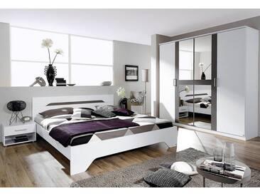 rauch PACK´S Schlafzimmmer-Set »Rubi«, 4-teilig, grau