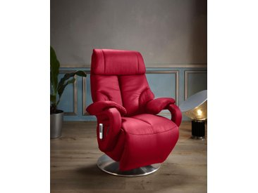 Places of Style TV-Sessel »Gisborne«, in Größe S, wahlweise mit Motor und Aufstehhilfe, rot, NaturLEDER®