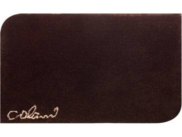 Badematte »Colani 40« Colani, Höhe 24 mm, rutschhemmend beschichtet, fußbodenheizungsgeeignet, braun, rechteckig 60x100 cm