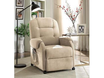 ATLANTIC home collection TV-Sessel, beige