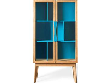 Woodman Vitrine »Hilla«, Breite 88 cm, blau