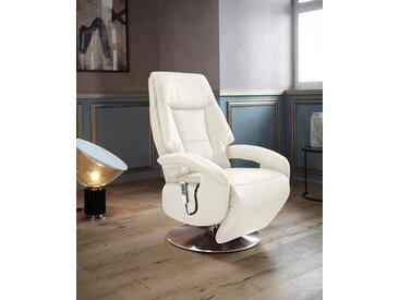 Places of Style TV-Sessel »Launceston«, in Größe S, wahlweise mit Motor und Aufstehhilfe, beige, NaturLEDER®