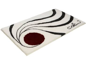 Badematte »Colani 18« Colani, Höhe 24 mm, rutschhemmend beschichtet, fußbodenheizungsgeeignet, weiß, rechteckig 70x120 cm