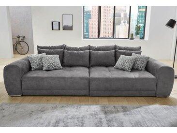 Jockenhöfer Gruppe Big-Sofa, grau, Luxus-Microfaser
