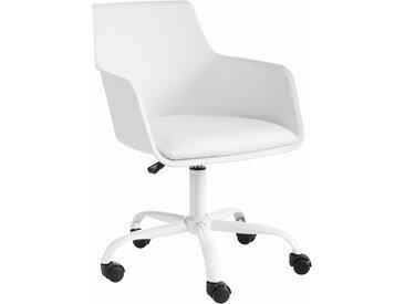 Bürostuhl »Lonny«, mit gepolstertem Sitz, Neckermann, weiß
