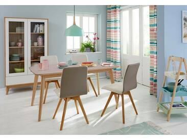 GMK Home & Living Esstisch «Calluna», im modernen, skandinavischen Design, in verschiedenen Größen und Farben, Guido Maria Kretschmer Home&Living, beige