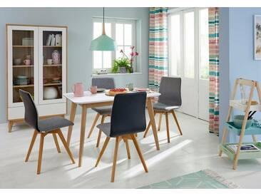 GMK Home & Living Esstisch «Calluna», im modernen, skandinavischen Design, in verschiedenen Größen und Farben, Guido Maria Kretschmer Home&Living, weiß