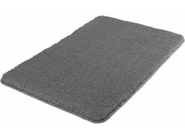 Badematte »Super Soft« MEUSCH, Höhe 23 mm, fußbodenheizungsgeeignet, strapazierfähig, rutschhemmender Rücken, grau, rechteckig 60x90 cm