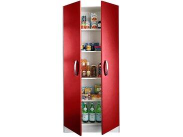 wiho Küchen Mehrzweckschrank »Amrum« 80 cm breit, 2 Türen, rot
