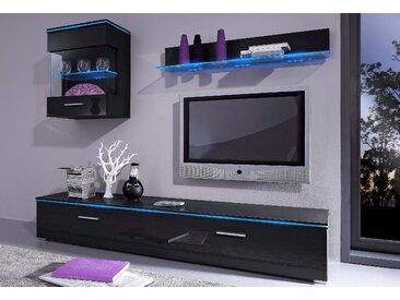 TV-Board, Breite 120 cm oder 180 cm, Neckermann, schwarz