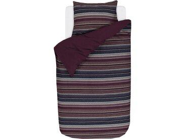 Wendebettwäsche »Valiar«, Esprit, mit schmalen Bordüren, rot, Biber