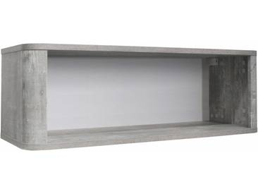Hängeregal »Aarhus«, in vintage grau/weiß matt Lack, Neckermann