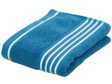 Handtücher »Rio«, Gözze, mit frischer Streifenbordüre, blau, Walkfrottee, 2x 50x100 cm