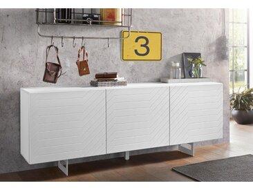 DIVENTA Sideboard »ITACA«, Breite 165 cm, weiß
