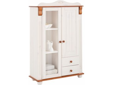 Home affaire Highboard »Adele«, Höhe 135 cm, weiß