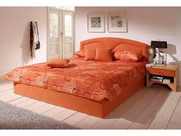 Westfalia Schlafkomfort Polsterbett, wahlweise mit Bettkasten, orange, 132 cm x 212 cm x 42 cm