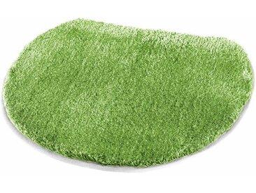 Badematte »Cover« MEUSCH, Höhe 20 mm, rutschhemmend beschichtet, grün, WC-Deckelbezug 47x50 cm