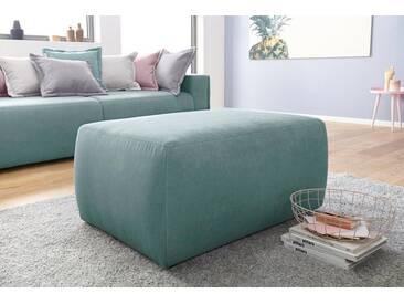 INOSIGN Hocker »Gina« passend zu den Polstermöbeln, grün, Feinstruktur weich