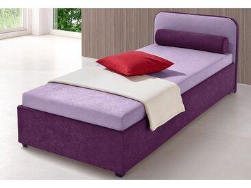 Maintal Polsterbett, wahlweise mit Bettkasten, lila