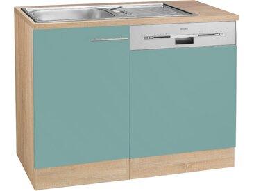 OPTIFIT Spülenschrank »Kalmar«, mit Tür/Sockel für Geschirrspüler, grün