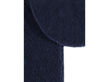 GRUND Badgarnitur mit Swarovski-Kristallen, blau, Set: Deckelbezug ca.47/50cm+ca.45/50cm, m. Ausschnitt