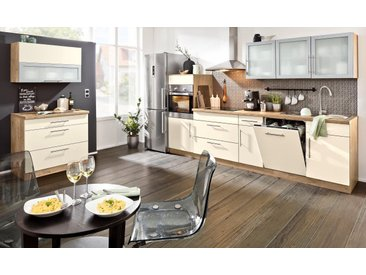 wiho Küchen Spülenschrank »Aachen«, gelb