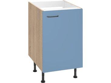 OPTIFIT Spülenschrank »Elga«, Breite 50 cm, blau