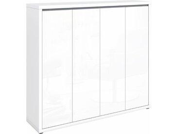 HMW Kommode »Spazio«, Breite 133, 5 cm, weiß