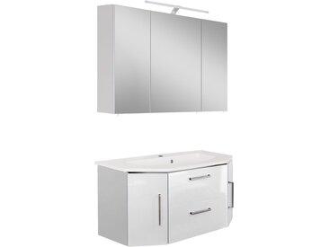 OPTIFIT Waschtisch-Set »Ava«, (Set, 2-tlg), weiß
