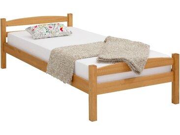Home affaire Bett »Samet« (aus massiver Kiefer), beige, 90 cm x 200 cm x 31,5 cm