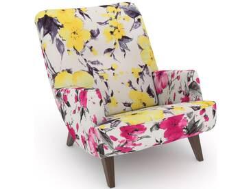Max Winzer® build-a-chair Loungesessel »Borano« im Retrolook, zum Selbstgestalten, gelb
