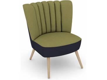 Max Winzer® build-a-chair Stuhlsessel »Aspen« im Retrolook, zum Selbstgestalten, grün