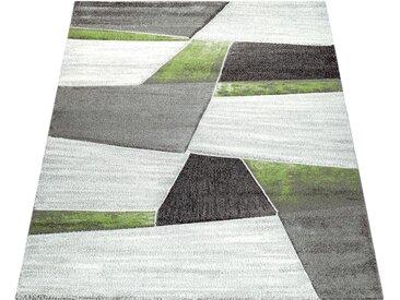 Läufer »Diamond 662«, Paco Home, rechteckig, Höhe 18 mm, 3D-Design, Kurzflor mit geometrischem Muster, grün