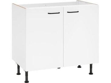 OPTIFIT Spülenschrank »Elga«, Breite 90 cm, weiß