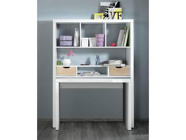 Regal und Schreibtisch »Shelf & Write«, HMW, weiß