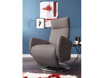 sit&more TV-Sessel, grau, Flachgewebe