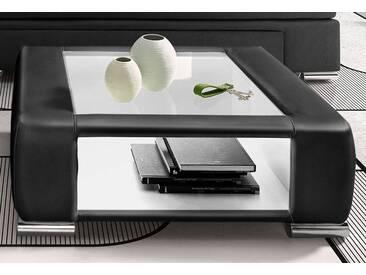 INOSIGN Couchtisch und Nachttisch in einem, schwarz, Luxus Kunstleder