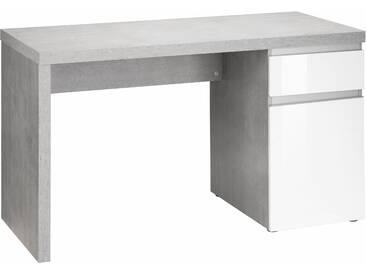 HMW Schreibtisch »Ben«, grifflose Optik, grau