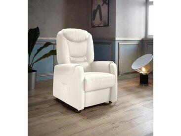 Places of Style TV-Sessel »Tamworth«, in Größe M, wahlweise mit Motor und Aufstehhilfe, beige, NaturLEDER®