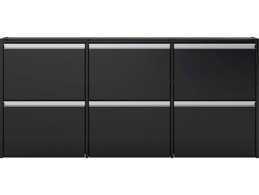 INOSIGN Schuhschrank »Skyline« Breite 153 cm, schwarz