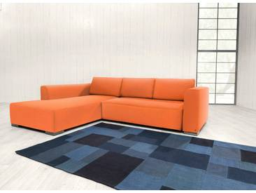 TOM TAILOR Polsterecke XL »HEAVEN STYLE COLORS«, wahlweise mit Bettfunktion und Bettkasten, orange, Struktur fein TBO