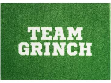 Fußmatte »Team Grinch«, MINT RUGS, rechteckig, Höhe 7 mm, In- und Outdoor geeignet, waschbar, grün, 50x70 cm
