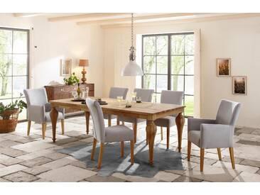 Premium by Home affaire Esstisch »Felix«, mit eckiger Tischplatte und gedrechselten Beinen, Premium collection by Home affaire