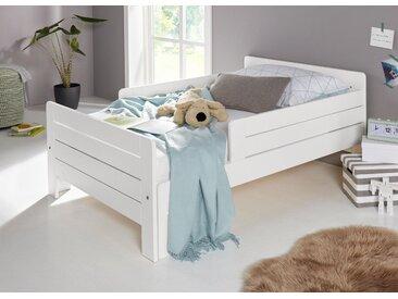 Ausziehbares Kinderbett, Neckermann, weiß