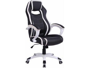 "Chefsessel ""Silver"", Gaming-Chair, Homexperts, schwarz"